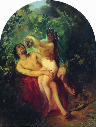satyr-and-nymph