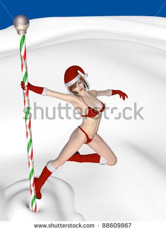 stock-photo-north-pole-dancing-elf-an-elf-doing-a-pole-dance-on-the-north-pole-christmas-humor-88609867