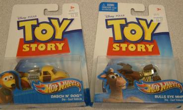 toy story HW bulls eye and dasch pair