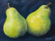 two lovely pears