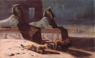 Wertheimer_Lions_et_Sphinx
