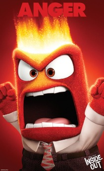 """INSIDE OUT"" (Pictured) ANGER. ©2014 Disney•Pixar. All Rights Reserved."