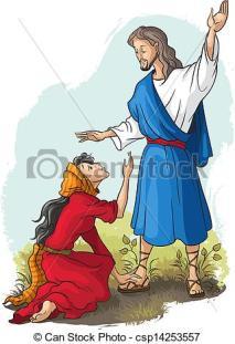 can-stock-photo_csp14253557 VecTor to Jesus MaRy MagdaLene BibEL sTories Jezeus to MaRy