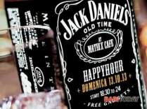 domenica 13.10 - happy hour @ matrix - jack daniel's party