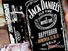 domenica 13.10 - happy hour @ matrix - jack daniel's party