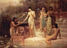 Edwin Longsden Long - PhaRaoh's DaughteR Finding Mo ses