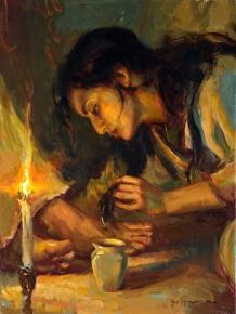 forgiven-24x18web1 at the feet of Jezus daniEL geRhaRtz