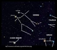 gemini and canis minor