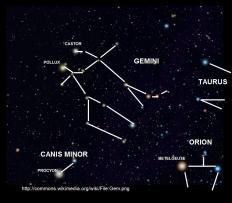 gemini and canis minor