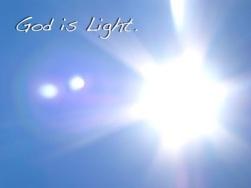 God-is-L ight L ife L ove L eve L eve Ry