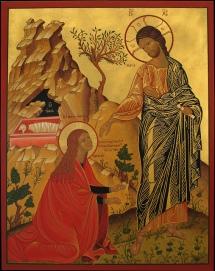Icon JeZus and MaRy MagdaLene