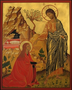 Icon JeZus and MaRy MagdaLene