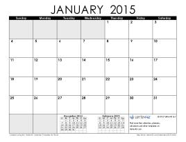 Janu aRy-2015-caL end aR