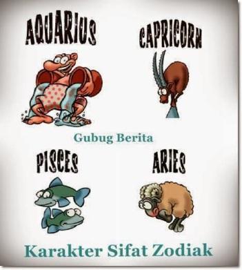 karakter-sifat-zodiak-capricorn-aquarius-pisces-aries