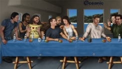LOST last supper by RyanNore detail