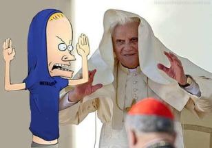 Pope vs Beavis