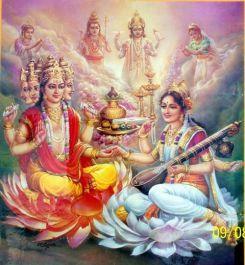saraswati y brahma