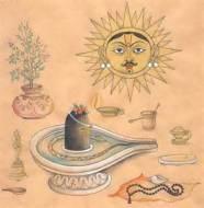 shiva Lingam worship