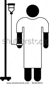stock-vector-pictogram-of-a-patient-with-iv-bag-92323633