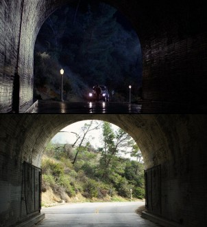 who fRamed RogerRAbbit gRiffith paRk tunnEL