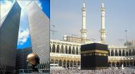 WTC Plaza - The Sphere and Twin Towers - Jachin and Boaz compared to Mecca Kaaba Mosque